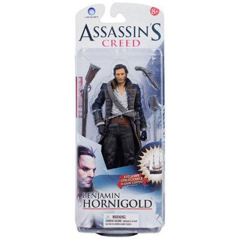 Assassins Creed Serie 1 Action Figur - Secret Pirate 2
