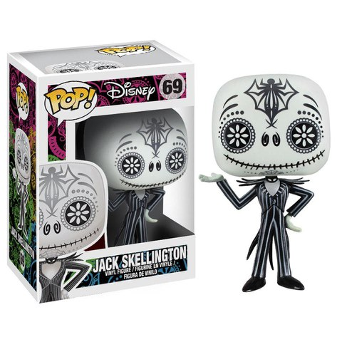 Disney L'Étrange Noël de monsieur Jack Day of the Dead Figurine Funko Pop!