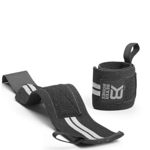 Better Bodies Elastic Wrist Wraps - Black