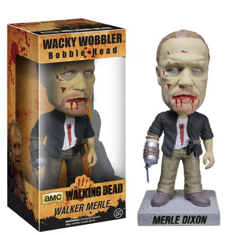 The Walking Dead Merle Zombie Bobblehead