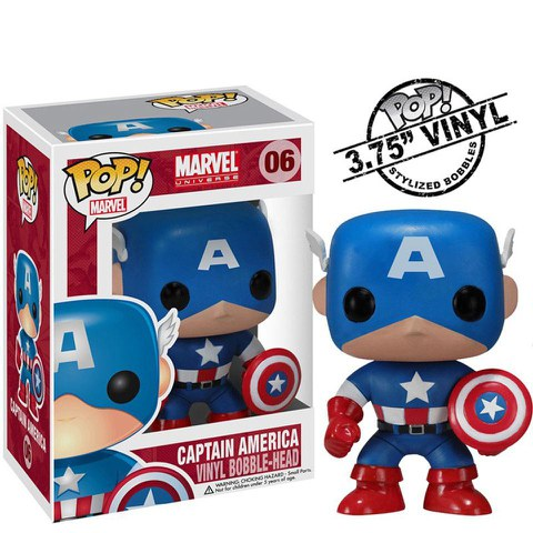 Figurine Pop ! Captain America Marvel