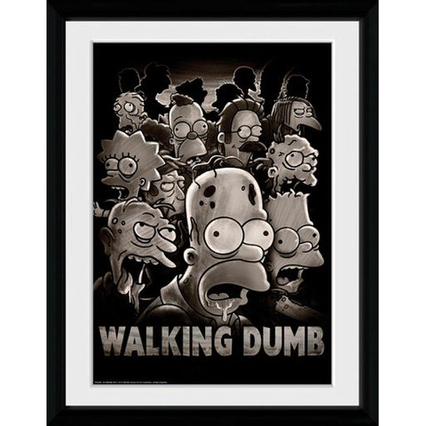 The Simpsons The Walking Dumb - 30x40 Collector Prints