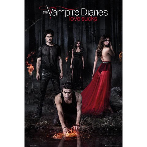 The Vampire Diaries Woods - Maxi Poster - 61 x 91.5cm