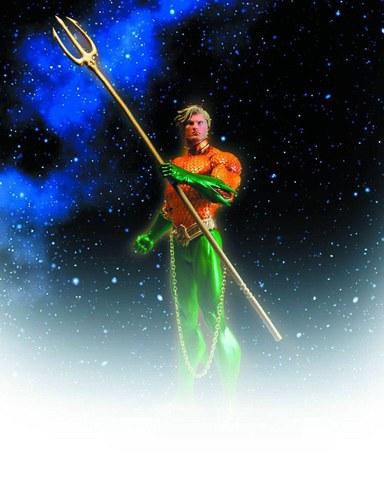 DC Comics New 52 Aquaman Action Figure (Jun128338)