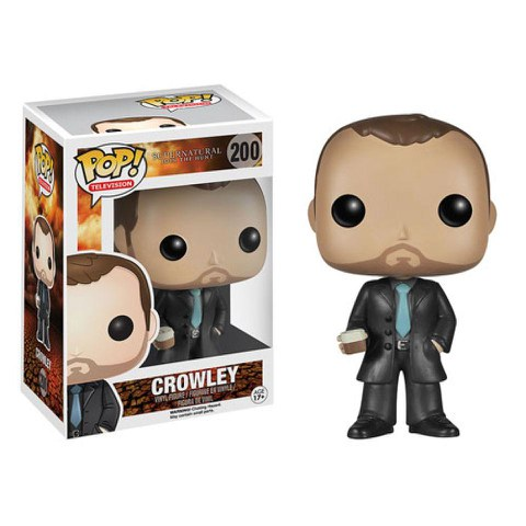 Supernatural Crowley Pop! Vinyl Figure