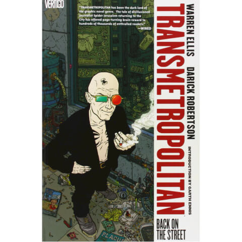Transmetropolitan: Back on the Street - Volume 01 Paperback Graphic Novel