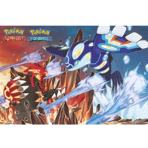 Pokémon Groudon and Kyogre - Maxi Poster - 61 x 91.5cm