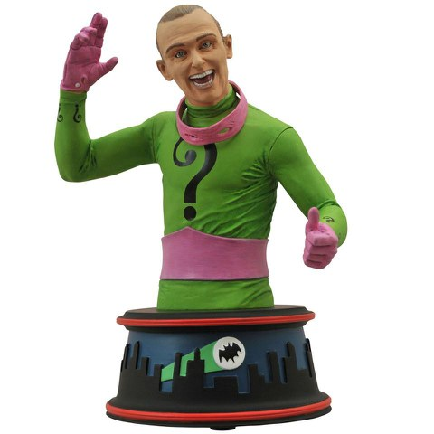 Diamond Select DC Comics Batman 1966 Riddler Bust