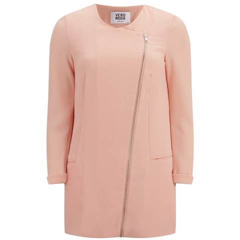 Vero Moda Women's Karo Pastel Jacket - Tropical Peach