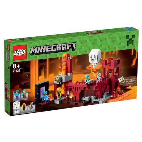 LEGO Minecraft: The Nether Fortress (21122)