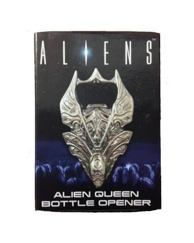 Aliens Queen Skull Metal Bottle Opener