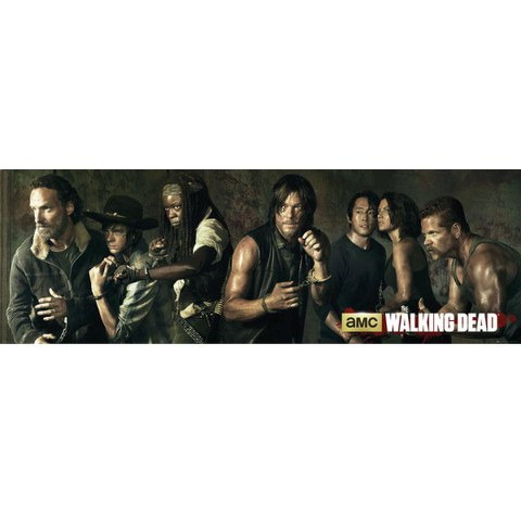 The Walking Dead Season 5 - Door Poster - 53 x 158cm