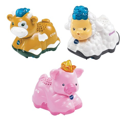 Vtech Toot-Toot Animals 3 Pack (Pig, Sheep, Cow)