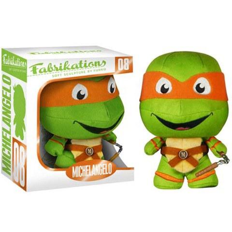 Teenage Mutant Ninja Turtles Michelangelo Fabrikations Plush Figure