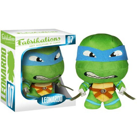 Teenage Mutant Ninja Turtles Leonardo Fabrikations Plush Figure