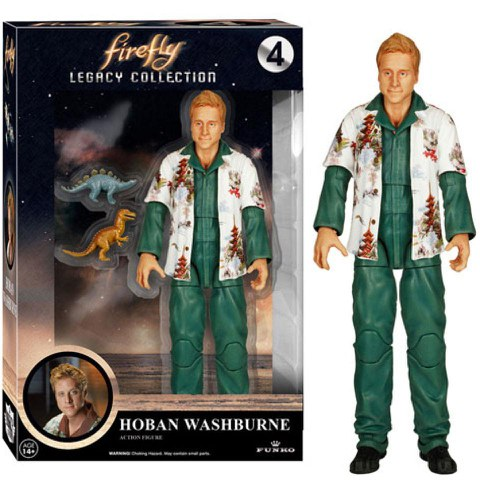 Firefly Legacy Collection Actionfigur Hoban Washburne