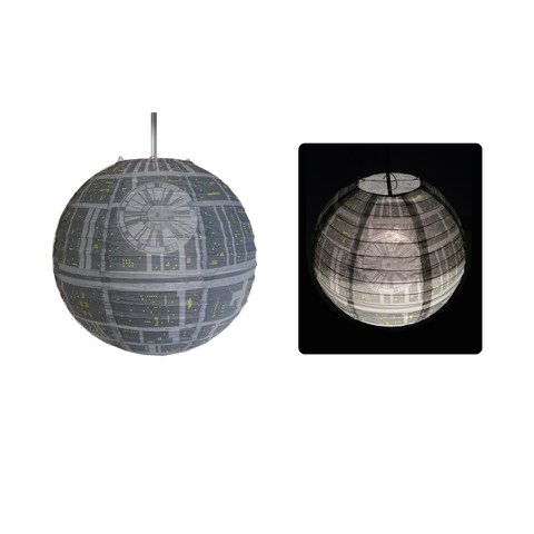 Star Wars Death Star Paper Lightshade