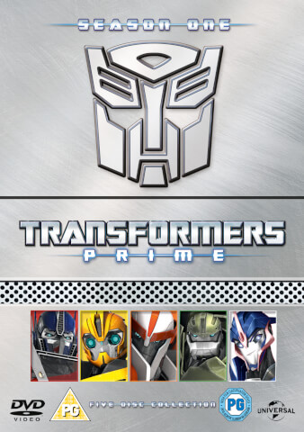 Transformers Prime - Season 1 Parts 1-5 Collection