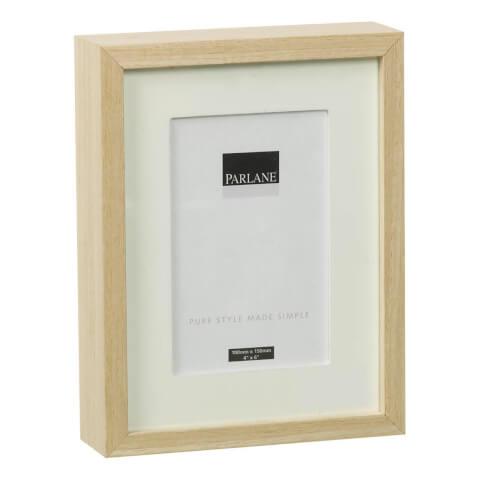 Cadre Solna Parlane -Blanc /Naturel -(10 x 15 cm)