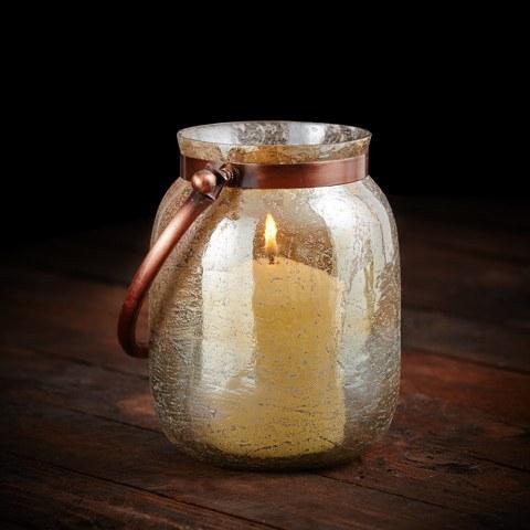 Parlane Freya Lantern - Gold (260x190mm)