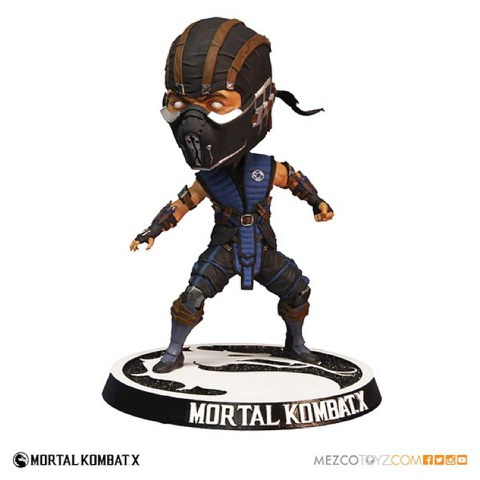 Mortal Kombat X Subzero Bobble Head Action Figure