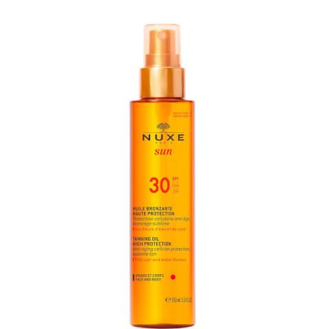 Huile Bronzante Haute Protection SPF 30, NUXE Sun 150 ml