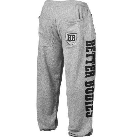 Better Bodies Men's Big Print Sweatpants - Antracite Melange