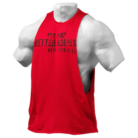 Better Bodies Graphic Logo Short Sleeve T-Shirt - Jester Red