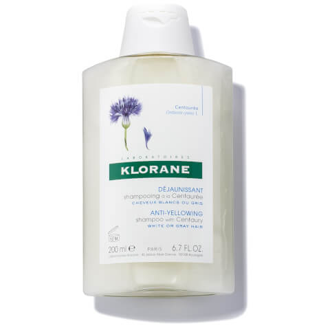KLORANE Centaury (Cornflower) For Grey/White Hair Shampoo 6.7oz
