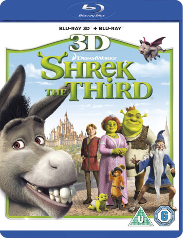 Shrek The Third 3D (Includes 2D Version)