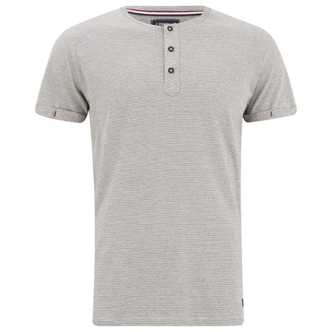 Produkt Men's OEK New Grandad Buttoned T-Shirt - Cloud Dancer