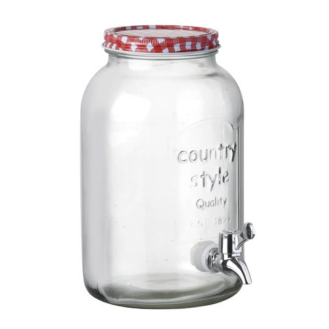 Parlane Drinks Jar with Tap