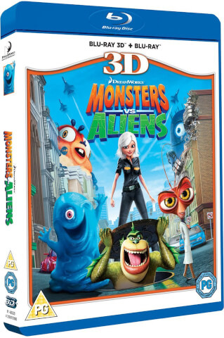 Monsters vs Aliens 3D (Includes 2D version)