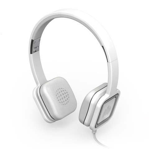 Cascos Ministry of Sound Audio On - Blanco y Metal
