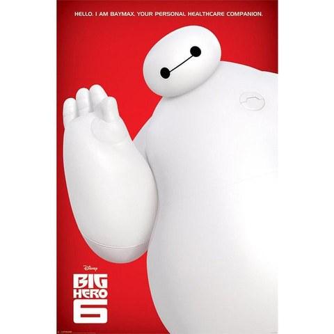 Disney Big Hero 6 I Am Baymax - 24 x 36 Inches Maxi Poster