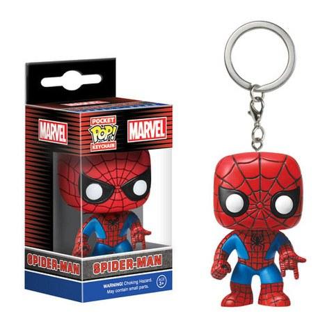 Marvel Spider-Man Porte-clés Pocket Pop!