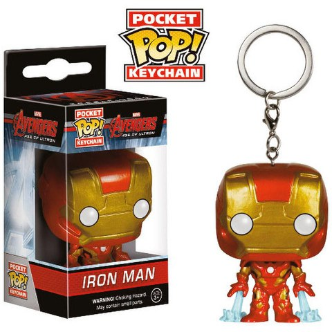Marvel Avengers Age of Ultron Iron Man Pop! Vinyl Key Chain