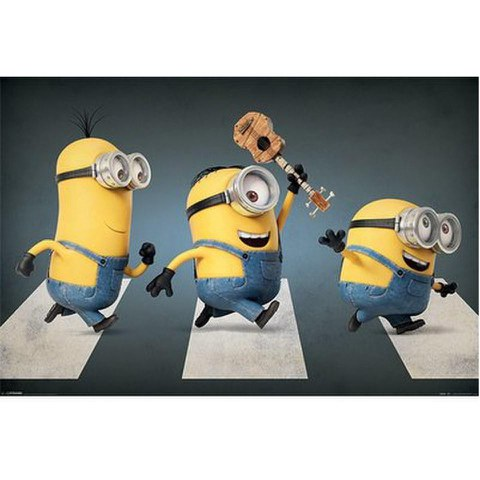 Minions Abbey Road - 24 x 36 Inches Maxi Poster