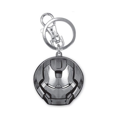 Marvel Avengers Age of Ultron Hulkbuster Head Pewter Key Chain