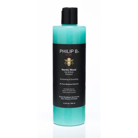 Philip B Nordic Wood Hair and Body Shampoo (350ml)