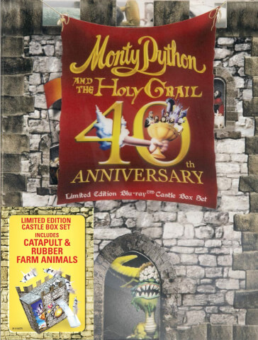 Monty Python & The Holy Grail - Set Regalo de Edición Limitada 40 Aniversario