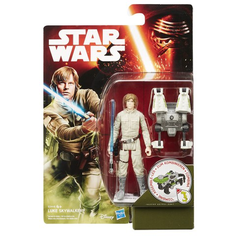 Star Wars: El Despertar de la Fuerza Luke Skywalker Figura de Acción