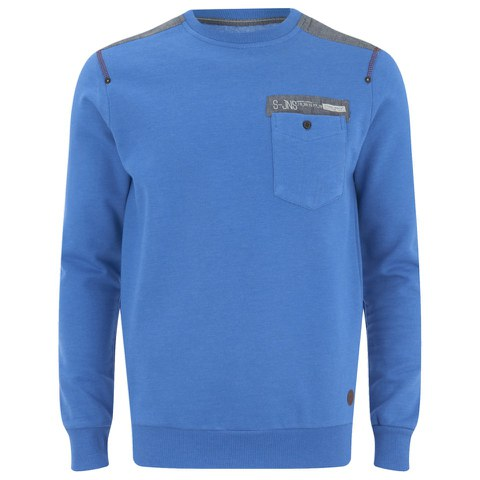 Smith & Jones Men's Smithlands Sweatshirt - Le Mans Blue