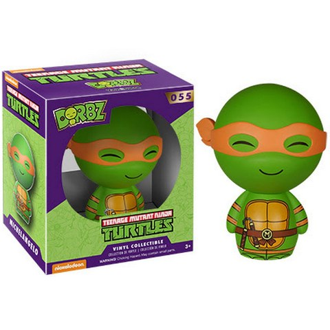 Teenage Mutant Ninja Turtles Vinyl Sugar Dorbz Vinyl Figur Michelangelo
