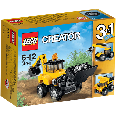LEGO Creator: Construction Vehicles (31041)