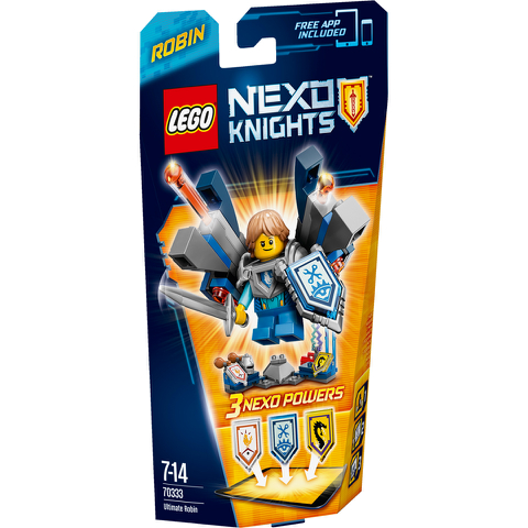 LEGO Nexo Knights: Ultimate Robin (70333)