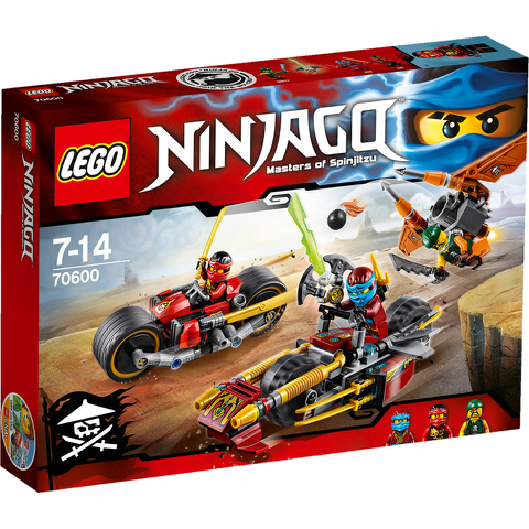 LEGO Ninjago: Ninja motorachtervolging (70600)