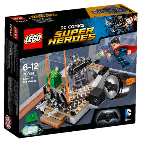 LEGO DC Comics Batman v Superman Clash of the Heroes (76044)