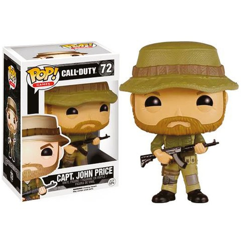 Call of Duty Capt. John Price Funko Pop! Vinyl Figur
