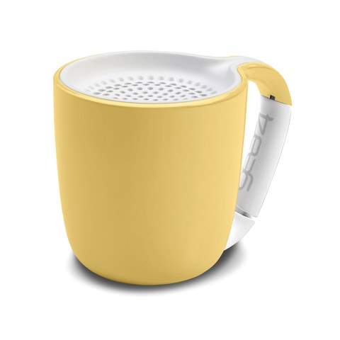 GEAR4 Espresso Portable Wireless Bluetooth Speaker - Pastel Yellow
